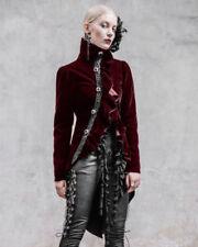 Manteaux et vestes rouges en polyester pour femme
