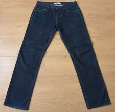 NEXT Men's Straight Fit Button Fly Blue Jeans Quality Denim Goods Size: 34L