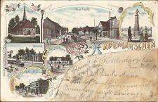 Gasthaus, Kaufhaus, Bahnhof, Hademarschen bei Hanerau, Rendsburg, Itzehoe, Heide