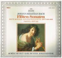 Bach: Sonate Pour Flûte / Bwv 1033, 1035 Vol.2 / Nicolet, Richter LP Archiv