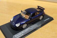 MINICHAMPS 400062021 Porsche 911 Gt3 Blue Lapisblaumetallic 1/43 #NEW