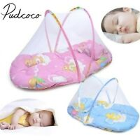 New Portable Foldable Baby Kids Infant Bed Zipper Mosquito Net Tent Crib