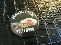 VINTAGE PROMO PINBACK BUTTON #130-024 movie BACK TO THE FUTURE - UNIVERSAL S