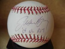 JASON BAY 04 NL ROY SIGNED AUTOGRAPHED M.L. BASEBALL MLB/STEINER HOLOGRAM