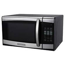BLACK+DECKER™ ® 0.9cu. ft. 900 Watt Microwave Oven Stainless Steel ...