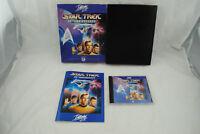 Jeu IBM PC STAR TREK 25th ANNIVERSARY (BIG BOX & CD-ROM version) CD remis à neuf