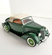 Franklin Mint 1936 Ford Roadster Cabriolet Convertible Precision Model 1:24 Scal