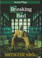 DVD - BREAKING BAD - SEZON 5  - 3 DVD BOX - NEW DVD