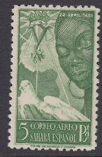 SPANISH SAHARA : 1951 Airmail.Birth Anniversary of Isabella 5p   SG84 mint