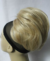 New Synthetic Straight short Drawstring  Scrunchies Bun ponytail Hairpiece UPDO