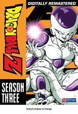 NEW Dragon Ball Z: Season 3 (Frieza Saga) (DVD)