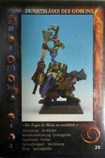 Confrontation : Dunstbläser 1 - Rackham Zinnfiguren Goblins No-Dan-Kar