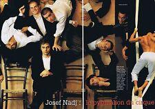 COUPURE DE PRESSE CLIPPING 1996 JOSEF NADJ  (4 pages)
