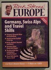 rick steves europe  GERMANY SWISS ALPS AND TRAVEL SKILLS  DVD