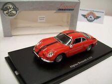 Alpine Renault a110, Rouge, 1964, universal hobbies 1:43, embalaje original