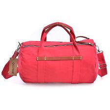 Canvas Leather Weekend Travel Bag Cross Body Shoulder Bag Duffle Gym Bag Outdoor
