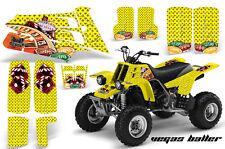 AMR Racing Yamaha Banshee 350 Decal Graphic Kit ATV Quad Wrap  87-05 BALLER YLLW