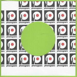 PHONOGRAM (black/white logo) REPRODUCTION RECORD COMPANY SLEEVES - (pack of 10)