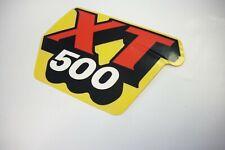 """""""XT 500"""" Emblem Tank  / grapic fuel tank , Yamaha  XT 500  1988 / 1989"""