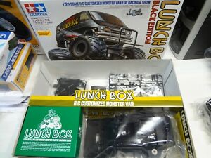 New with box Tamiya LunchBox Black Edition  kit minus body wheels tires and  esc