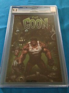 Goon #1 (1999) - Avatar Press - CGC 9.2 - White Pages - Eric Powell