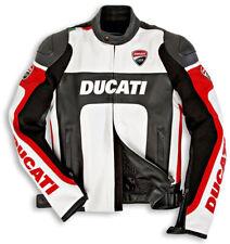 Ducati Moto Motociclo CE Protetto Armatura Pelle Sport Uomini Replica Giacca