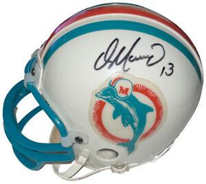 Dan Marino signed Miami Dolphins TB Rep Mini Helmet #13 - Upper Deck Holo