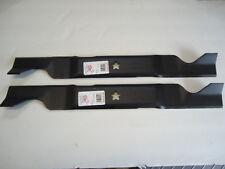 "2 New Mower Blades For Husqvarna RZ4623 46"" 532403107 33266 532405380 403107"