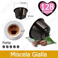 128 Capsule Cialde Caffe Compatibili NESCAFE DOLCE GUSTO Miscela Gialla