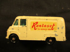 Vintage Lesney Matchbox Rentaset TV Service Van #62
