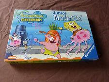 6146. Junior Malefiz  -  Spongebob Schwammkopf  -  Ravensburger