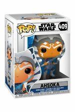 Star Wars Funko Pop 409 Ahsoka Figure 9cm Clone Wars Series TV Mandalorian Child