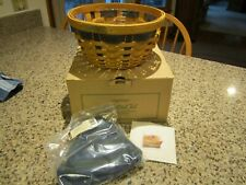 Longaberger Collectors club ware basket new in box