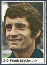 MARSHALL CAVENDISH TOP TEAMS 1971- #340-SCOTLAND & ARSENAL-FRANK McLINTOCK