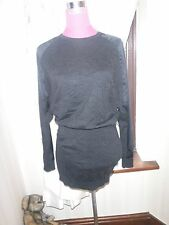 Stunning  All Saints Agi Dress Black Size 10 Excellent Condition