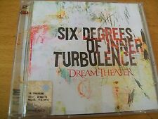 DREAM THEATER SIX DEGREES OF INNER TURBULENCE DCD MINT-