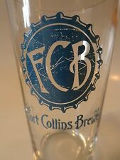 BEER PINT GLASS <> FORT COLLINS Brewery ~ COLORADO ** 100s More Glasses in STORE