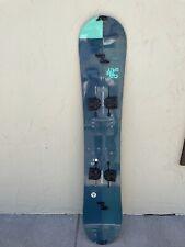 burton custom split spliboard snowboard board 156cm camber 2016/2017 & G3 Skins