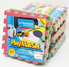 4 PACKS OF INDOOR OUTDOOR KIDS CHILDRENS FOAM PLAY MAT SET TILES SAFETY   PLAYM