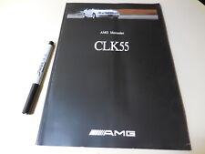 AMG Mercedes-Benz CLK55 Japanese Brochure 2000/08 C208
