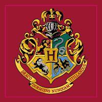 Harry Potter Hogwarts 'Emblem' Square Rug Bedroom Floor Mat