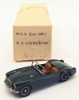 ACE Car Kits 1/43 Scale Built Model - MGA 1600 Mk1 - BR Green