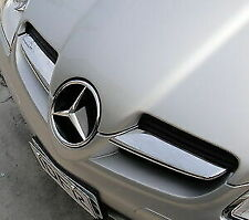 MERCEDES BENZ SLK CONVERTIBLE CLASS R171 CHROME AIR VENT + GRILL SLATS