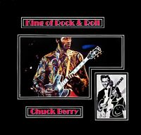 Chuck Berry Original Autographed Photograph, Matted & Framed Ready to Hang