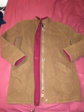 Vintage MACKINTOSH USA Wool Jacket Coat peacoat Womens Size 8 brown/red