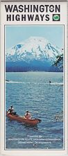 1968 Washington State Official Road Map