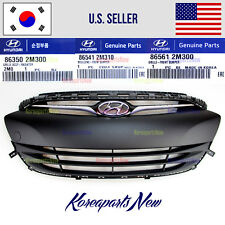 GRILLE FRONT BUMPER ASSEMBLY 3 parts (GENUINE) HYUNDAI GENESIS COUPE 2013-2017