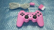 """SONY Official PlayStation2 DualShock2  Controller  """" Pink """" TESTED / 10730"""