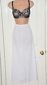 SLP W2 - Delightful slinky nylon waist slip, Shadowline, 1X, excellent, BN