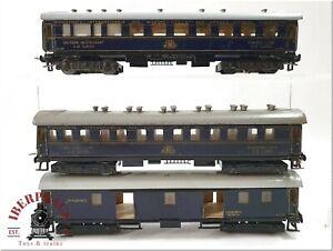 H0 1:87 ho Spur Modellbahn Personenwagen Trix Express vintage Set CIWL